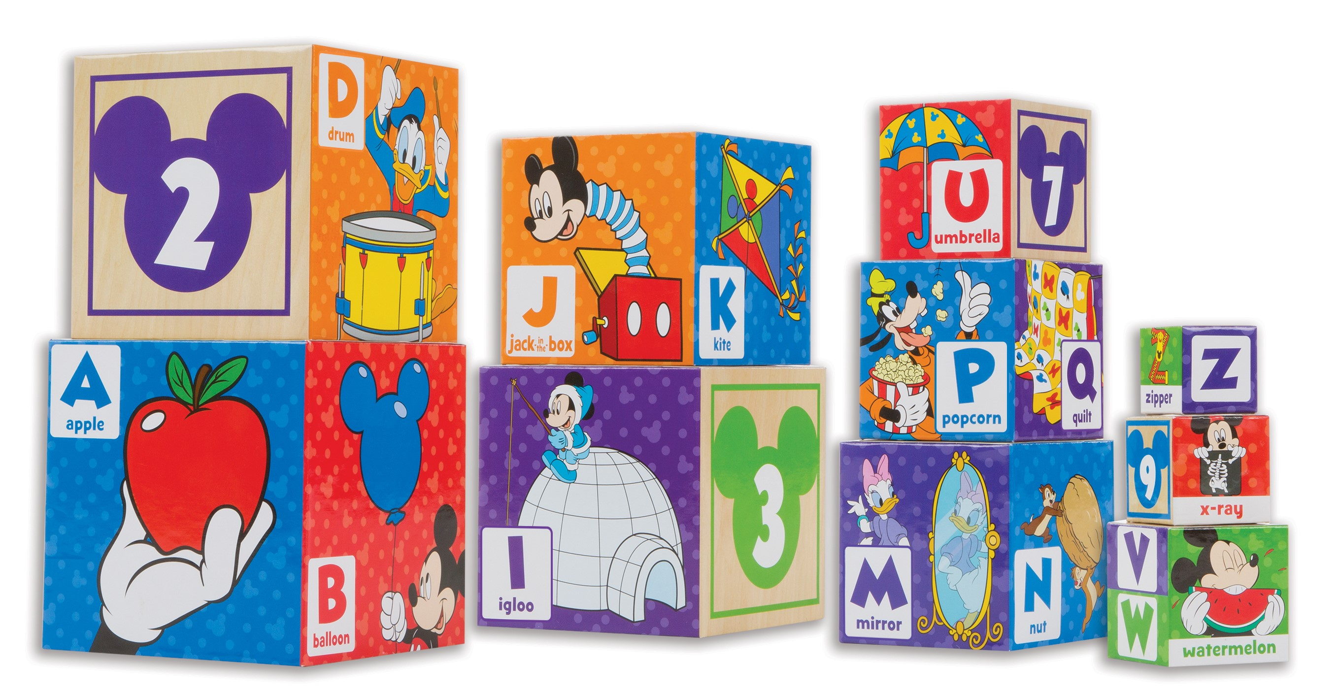 Deals on Melissa & Doug Mickey Mouse & Friends Nesting & Baby Toy