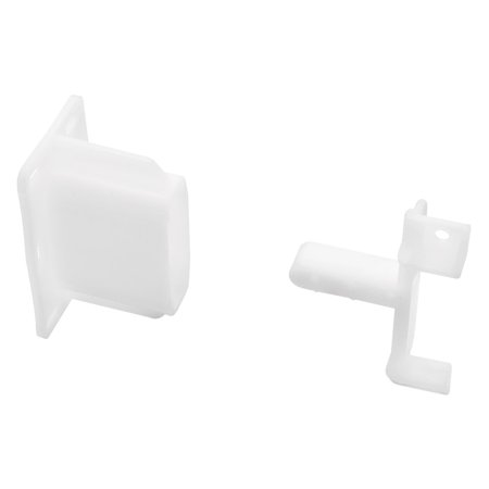 - Liberty Hardware D806SEC-W-D Mounting Bracket Adapter for Face Frame Cabinets - Pair