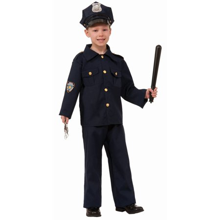 Halloween Child Police Costume](Police Halloween Costume Kids)