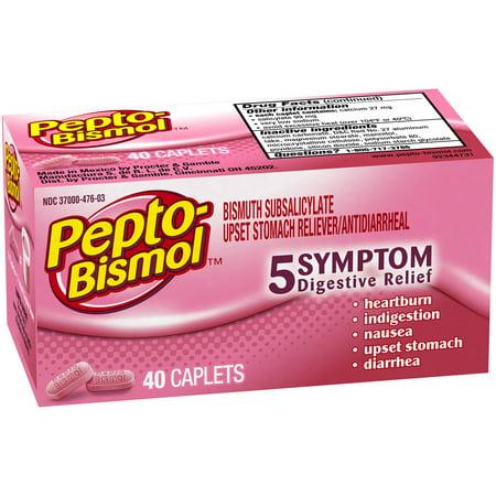 Pepto Bismol Caplet 40 ct