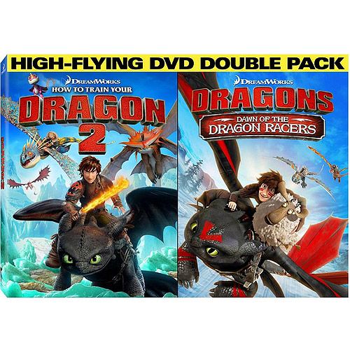 How To Train Your Dragon 2 / Dawn Of The Dragon Racers (Walmart Exclusive) (Widescreen, WALMART EXCLUSIVE)
