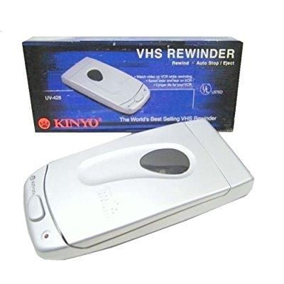 KINYO COMPANY, INC. UV-428 VHS Video Cassette Tape Rewind...