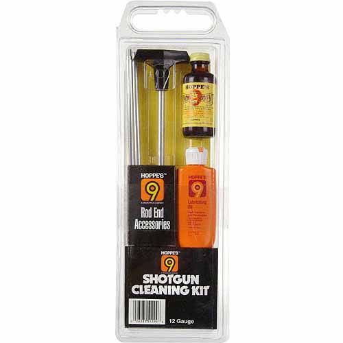 Hoppe's Shotgun Cleaning Kit with Aluminum Rod, 12-Gauge