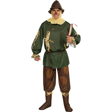 The wizard of oz scarecrow costume adult M](Munchkin Costume Wizard Of Oz)