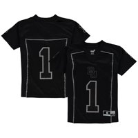 Baylor Bears Youth Black Out Football Jersey - Black
