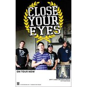 Close Your Eyes - Concert Promo Poster