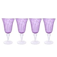 Better Homes & Gardens Outdoor Leggero Bubble Goblet, Set of 4