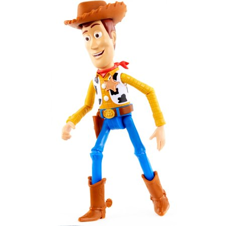 Disney/Pixar Toy Story 4 True Talkers Woody Figure with 15+ - Toy Story Woody