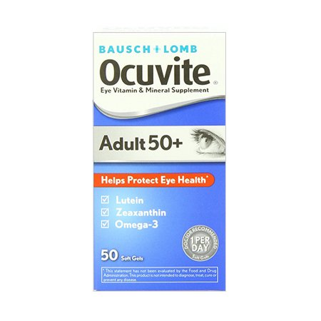 Ocuvite Adult 50 Plus Eye Vitamin And Mineral Supplement  Soft Gels   50 Ea