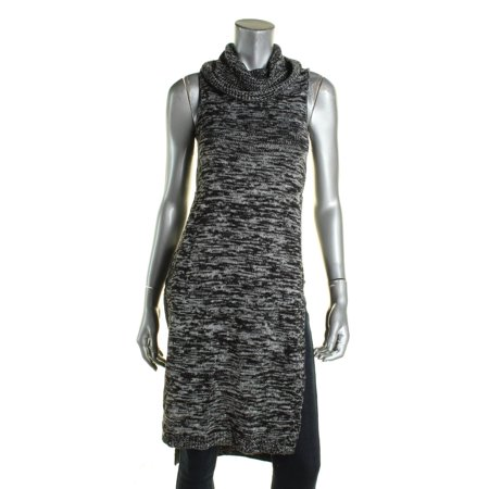 - Material Girl Womens Funnel Neck Knit Sweaterdress