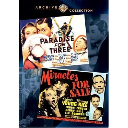 Paradise for Three / Miracles for Sale (DVD)