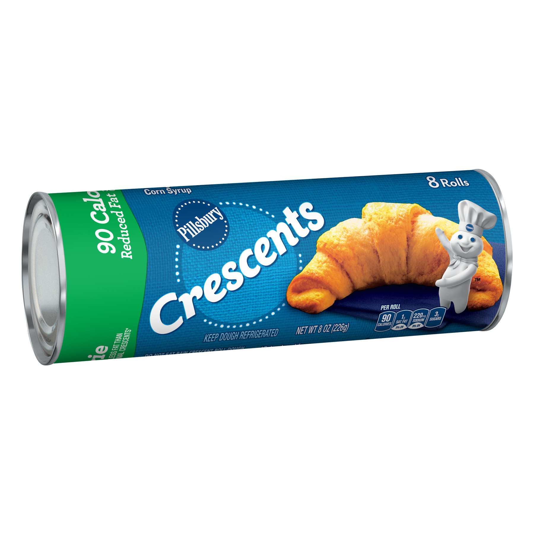 Pillsbury  Crescent Rolls Reduced Fat, 8 Count, 8 oz