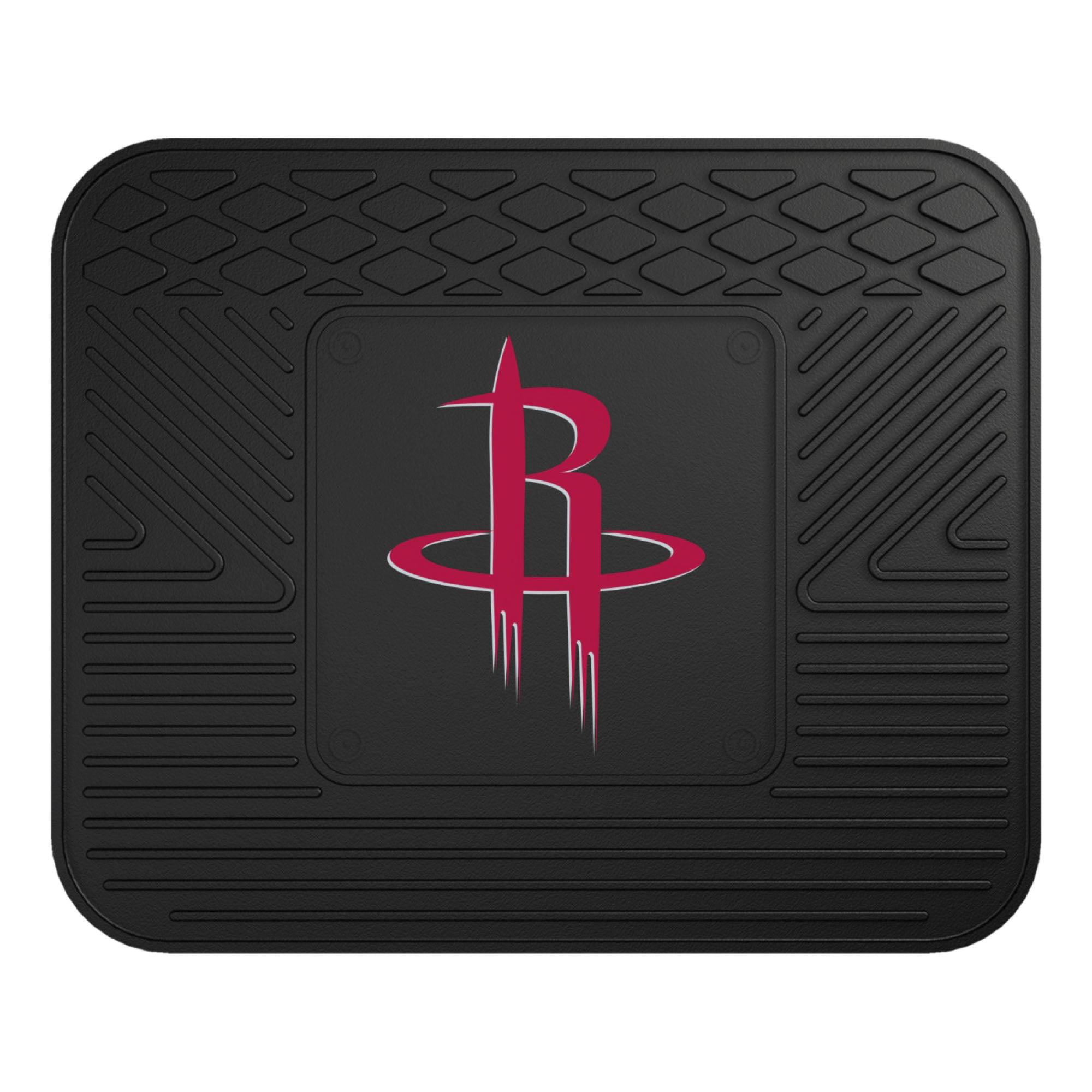 NBA Houston Rockets Heavy Duty Rear Car Seat Utility Mat
