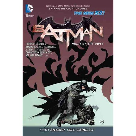 Batman: The Night of the Owls (The New 52) by