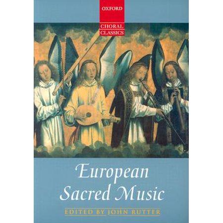 European Choral Music (Oxford Choral Classics: European Sacred)