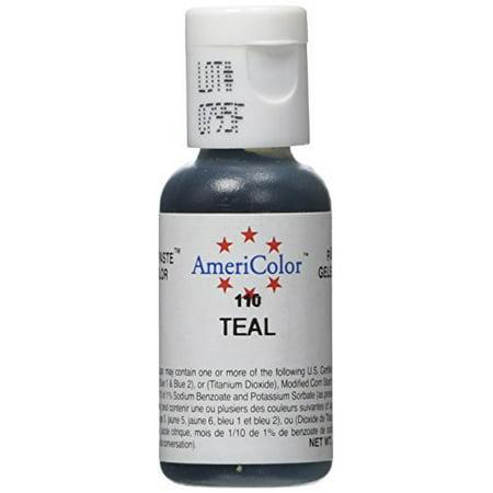 Americolor Soft Gel Paste Food Color, .75-Ounce, Teal - Walmart.com