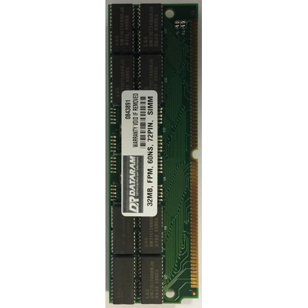Edo 60ns Simm Memory (32MB FPM 60ns 72 PIN SIMM MEMORY DRAM)