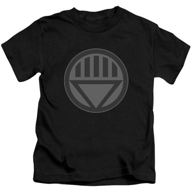 Green Lantern-Black Symbol Short Sleeve Juvenile 18-1 Tee, Black - Medium 5-6 - image 1 of 1