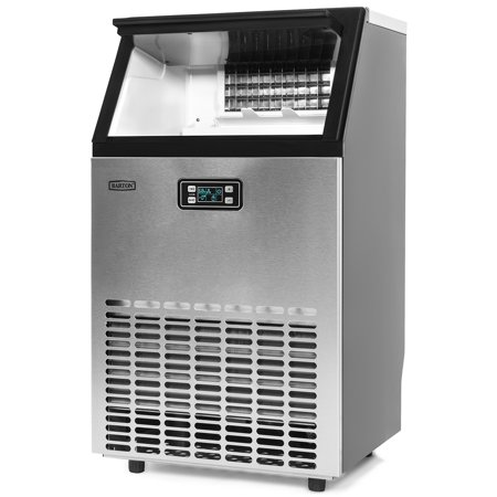 Barton Commercial Freestanding Built-in Under Counter Ice Maker Machine Ice Scoop & Connection Hoses