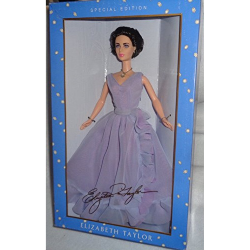 Elizabeth Taylor White Diamonds Doll - Barbie Special Edition Timeless Treasures (Mattel 2000)