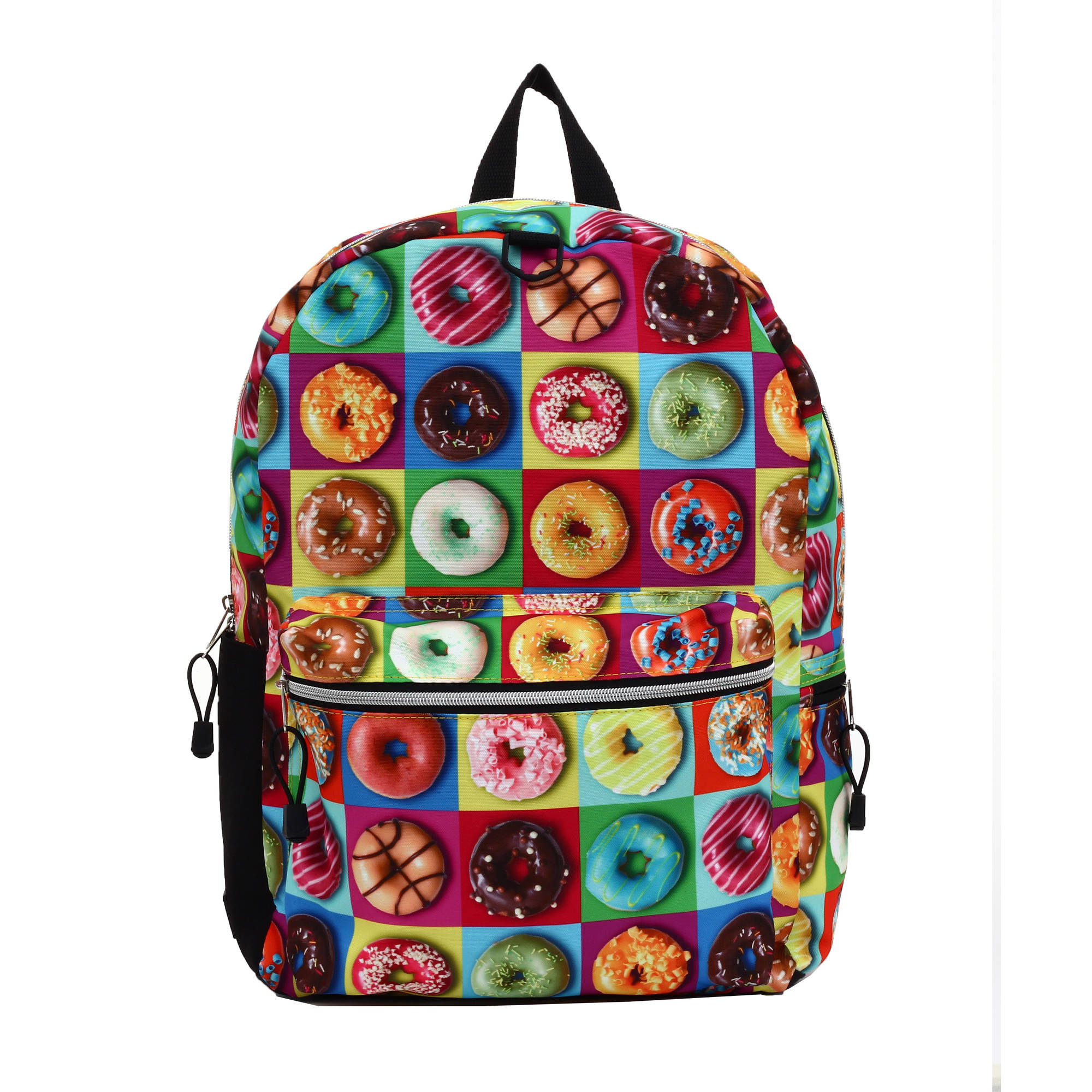 Checkered Donuts Backpack
