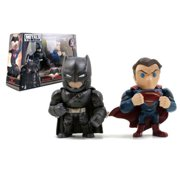 "JADA 4"" METALS - BATMAN V SUPERMAN TWIN PACK (MOVIE VERSION) FIGURE 97394"