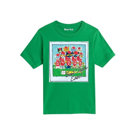 Pete The Cat Best Team Ever Multi  - Youth Short Sleeve