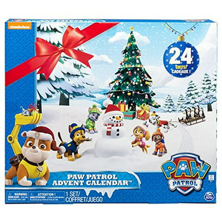 paw patrol look out advent calendar