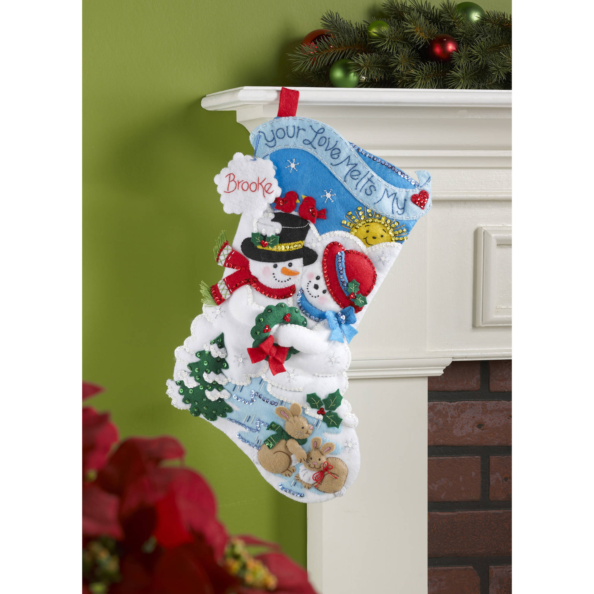 Bucilla Seasonal - Felt - Stocking Kits