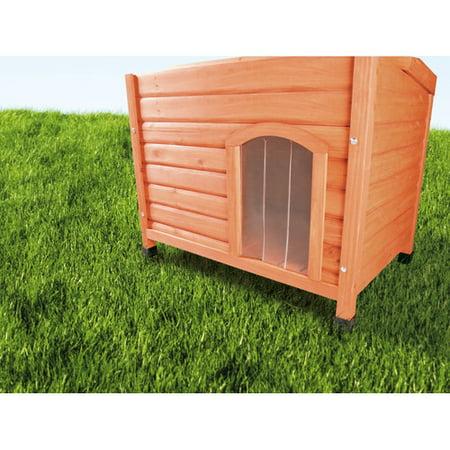 Tucker Murphy Pet Marciano Plastic Door For Flat Roof Dog House