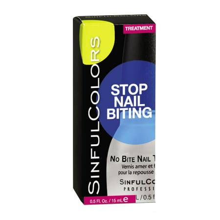 SinfulColors No Bite Nail Treatment, 0.5 Fl Oz - Walmart.com
