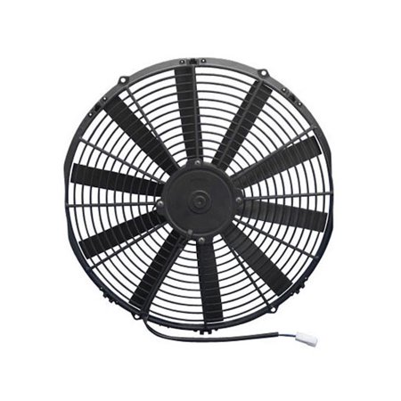 SPAL 30100385 Dual Electric Cooling Fan, Straight Blade, 14 Inch