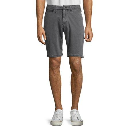 Washed 5-Pocket Shorts (Lucky Brand Vest)