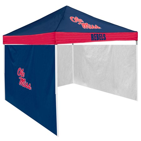 Mississippi Rebels NCAA 9' x 9' Economy 2 Logo Pop-Up Canopy Tailgate Tent