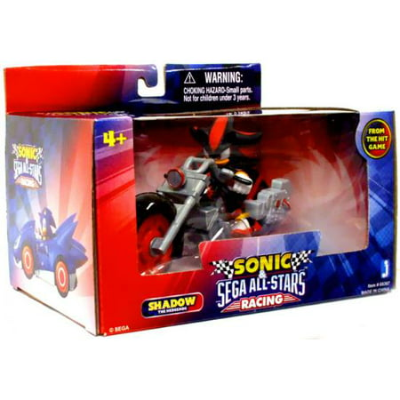 Shadow with Dark Rider Motorcycle Figure Vehicle Sonic The Hedgehog ()