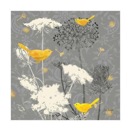 Gray Meadow Lace II Print Wall Art By Jill Meyer