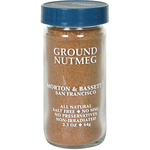 Morton & Bassett Spices Ground Nutmeg, 2.3 oz (Pack of 3) by Generic