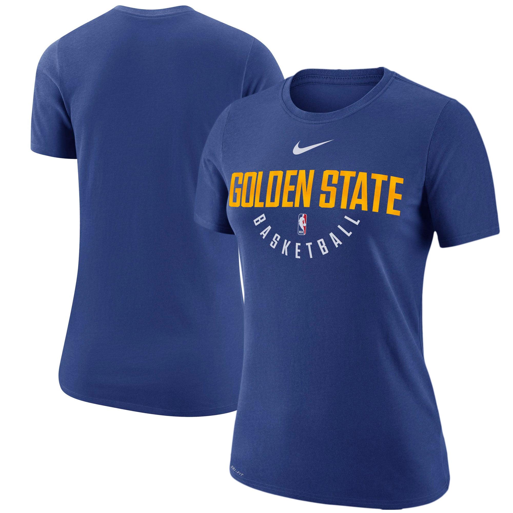 Golden State Warriors Nike Women's Practice Performance T-Shirt - Royal