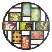 Umbra Luna Picture Frame Collage Wall Decor, Holds Nine 4x6 Photos