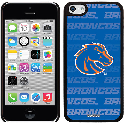 Boise State Repeating Blue Design on iPhone 5c Thinshield Snap-On Case by Coveroo