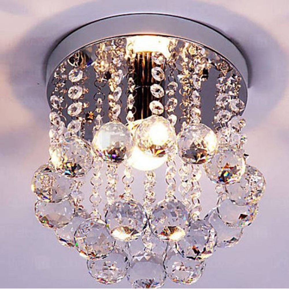 Surpars House Elegant Modern Chandelier 1-Light Flush Mount Ceiling Light