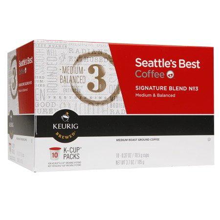 Seattle's Best, Single Serve K-Cup Coffee