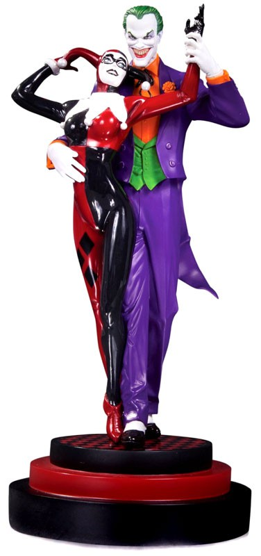 DC Collectibles: Batman The Joker & Harley Quinn Second Edition Statue by DC Collectibles