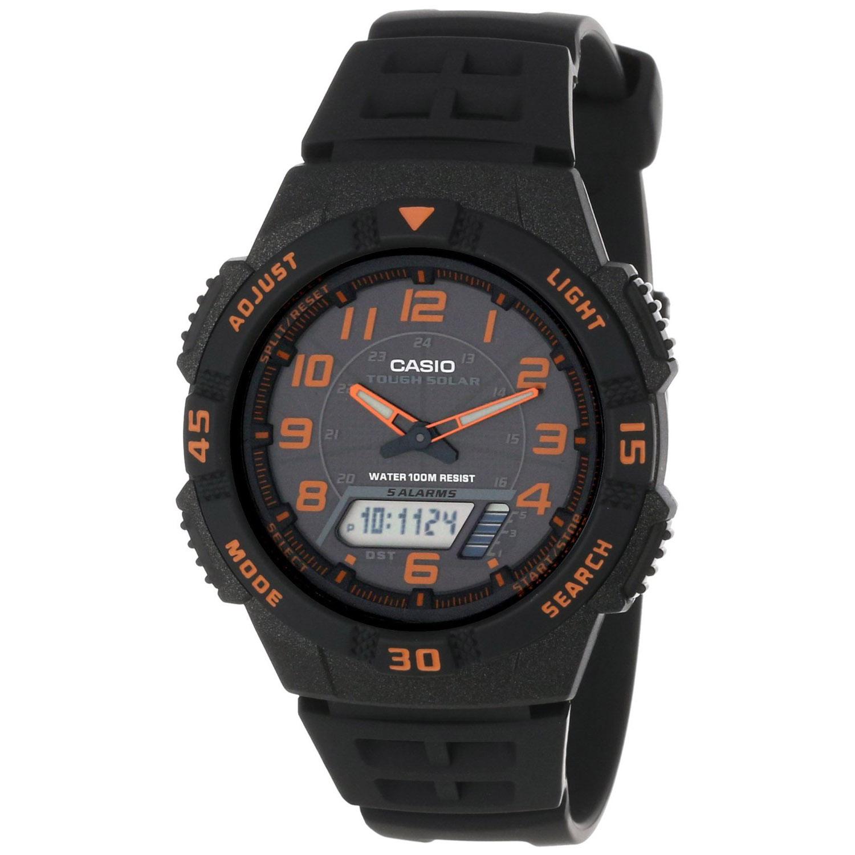 Casio Men's Ana-digi Watch Quartz Mineral Crystal AQS-800...