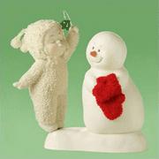 Department 56 Snowbabies Meet Under the Mistletoe 807079