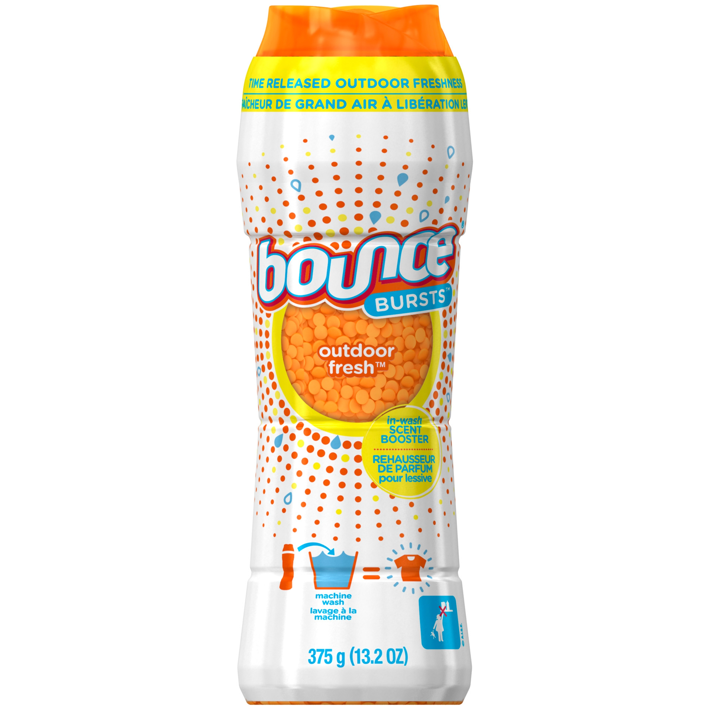 Bounce Bursts In-Wash Scent Booster, Outdoor Fresh, 13.2 oz