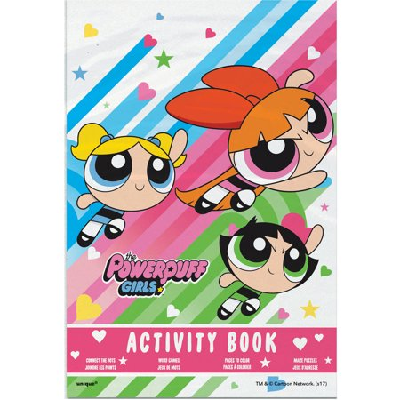 Powerpuff Girls Activity Book Party Favors, 4ct - Bubbles Powerpuff Girls