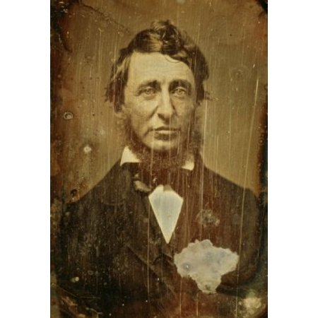 Henry David Thoreau Benjamin D Maxhan (19th C American) Daguerreotype National Gallery of Art Washington DC USA Canvas Art - Benjamin D Maxhan (18 x 24)