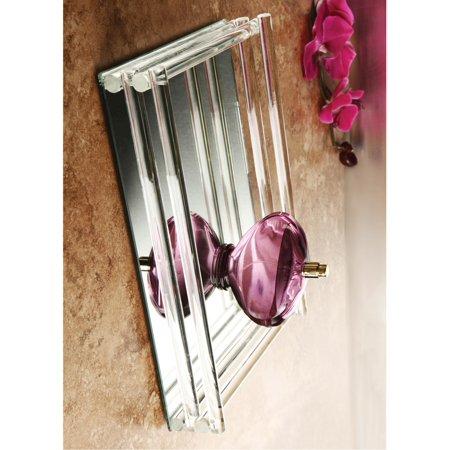 Mirror Vanity Tray W/Double Rail Designer Jewelry by Sweet Pea