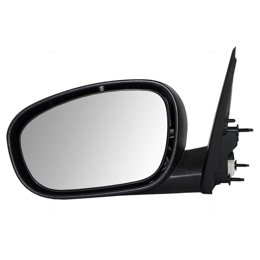 Drivers Power Side View Mirror Heated with Chrome Cap Replacement for Chrysler Dodge CH1320340 by Brock